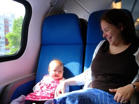 On the train to Utrecht.